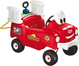 Little Tikes Spray & Rescue Fire Truck Riding Toy