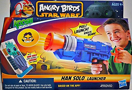 Angry Birds Star Wars - Han Solo Koosh Ball Launcher
