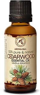 Aceite Esencial Cedro 30ml - Cedrus Atlantica - Marruecos - Aceite de Cedro para Aromaterapia - Relajación - Difusor Fraga...