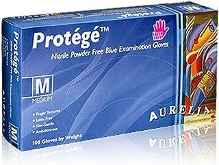 Protégé 93999 - Guante de nitrilo sin polvo, extra grande