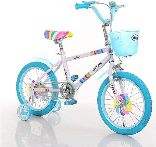 tienda LiuJF-Fitness Equipment Color de la la la Bicicleta, Niños y niñas Bicicleta Bicicleta Infantil de la Infancia Segura 2-5 años bebé Rueda Auxiliar Bicicleta 88cm  gran selección y entrega rápida