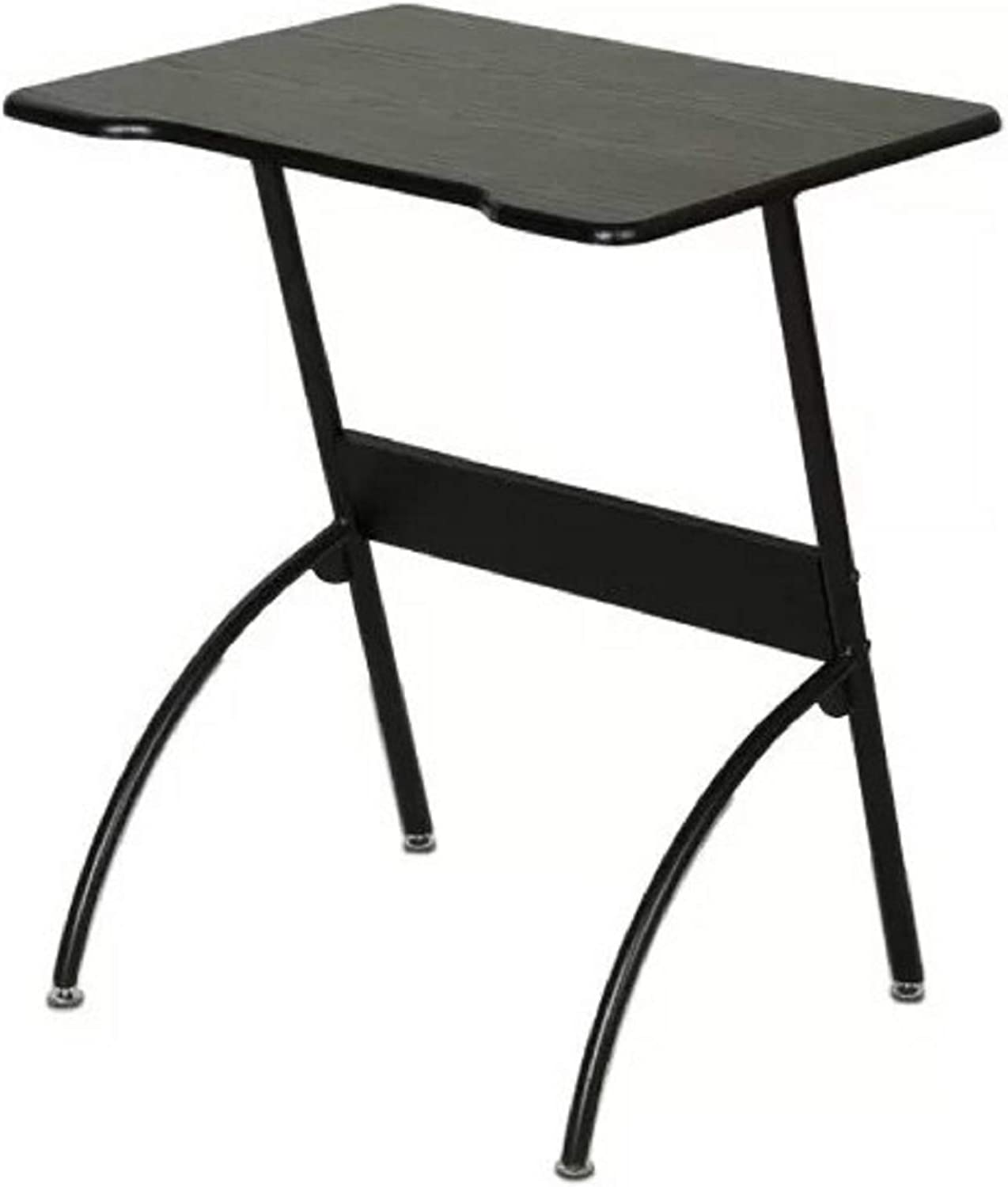 Modern Office Writing Desk. Trudy Modern Office Writing Desk, Top Material  Manufactured Wood (Black)