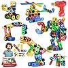 Jasonwell 168pcs 大工 ブロック おもちゃ 組み立て ブロック 子供 知育玩具 ロボット 恐竜 男の子 に 人気 STEM玩具 日本語バッケージ 立体パズル ゲーム モデル DIY 積み木 キーズ 誕生日 ギフト クリスマス プレゼント 贈り物