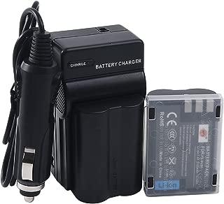 DSTE Replacement for 2X BLM-1 Battery + DC11 Travel and Car Charger Adapter Compatible Olympus Evolt E-300 E-330 E-500 E-510 C-5060 C-7070 C-8080 E-1 E-3 E-30 E-520 as PS-BLM1