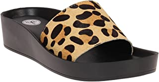 Red Pout Women Black and Brown Sandals