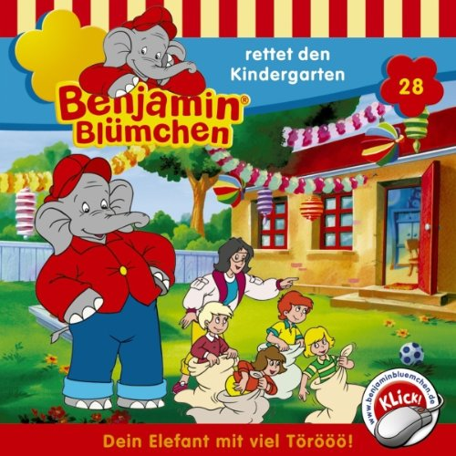 Benjamin rettet den Kindergarten audiobook cover art