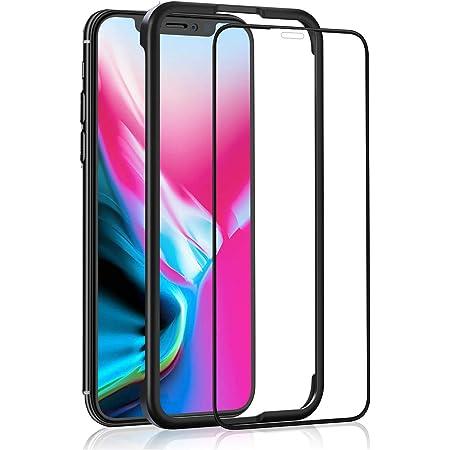 OAproda iPhone 11 Pro/iPhone XS/X ガラスフィルム 用 液晶保護強化ガラス【ガイド枠付き/全面保護/ケースに干渉しない】アイフォン11pro / Xs/X 5.8インチ 用 フィルム