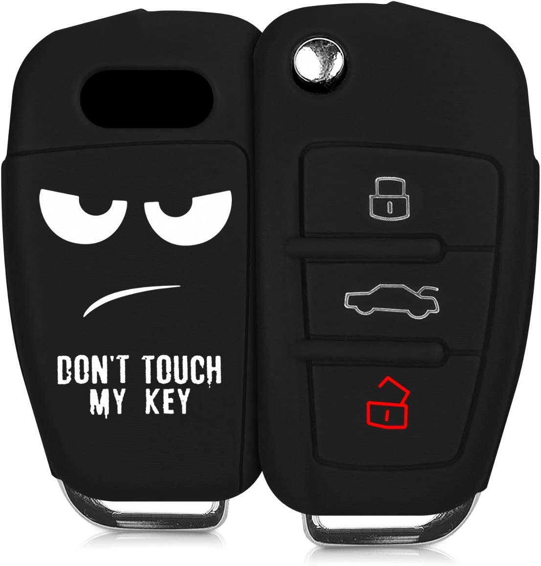 kwmobile Silicone Some reservation Key Fob Cover Compatible 3 Audi with Max 77% OFF Fl Button