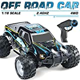 Remote Control Car, High Speed Fast Racing Monster Vehicle Hobby Truck Electric Hobby Toy with 800mah Rechargeable Battery for Boys Teens Adults