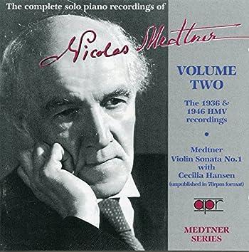 The Complete Solo Piano Recordings, Vol. 2: The 1936 & 1946 HMV Recordings