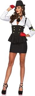 Women's 3 Piece Machine Gun Molly Gangster Costume
