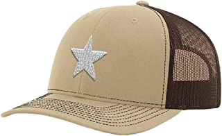 Custom Richardson Trucker Hat Somali Flag Star Embroidery City Name Polyester