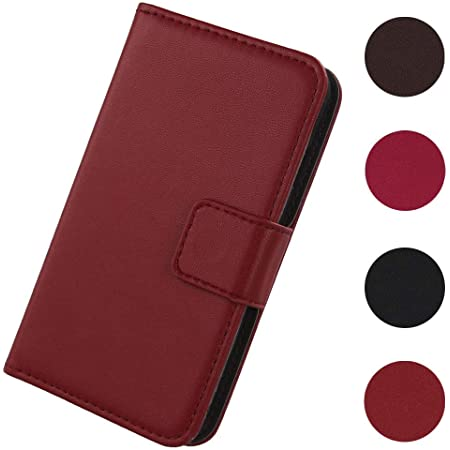 Lankashi Flip Premium Echt Leder Tasche Hülle Für Doro Elektronik