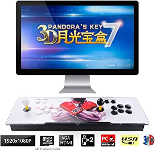 pandora 3d arcade