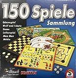 Spielesammlung mit 150 Spielmöglichkeiten