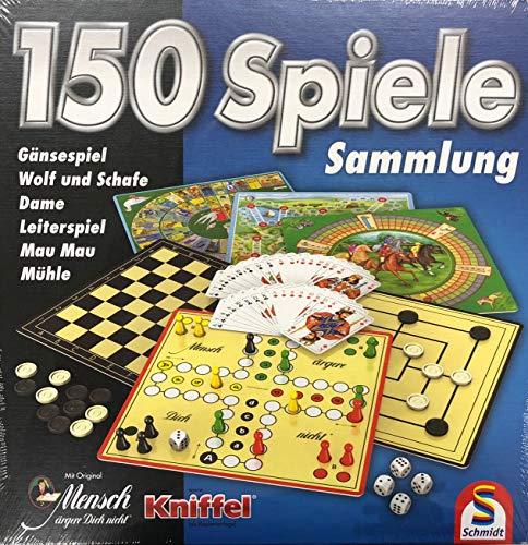 Schmidt Spiele Spielesammlung mit 150 Spielmöglichkeiten