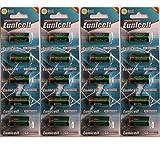 Eunicell LR44 4G13 L1325 A544 476A 6v - Pilas alcalinas (20 Unidades)