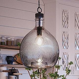 "Sponsored Ad - Luxury Modern Farmhouse Pendant Light, Medium Size: 20.375""H x 13""W, with Mediterranean Style Elements, Cha..."