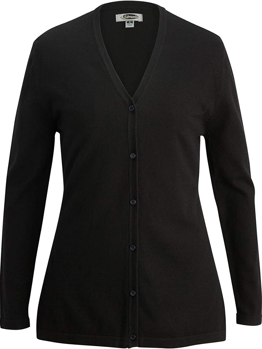 Edwards Ladies' V-Neck Long Cardigan Sweater