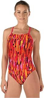 Speedo Women's Pro LT Rio Lights Free Back One Piece Swimsuit