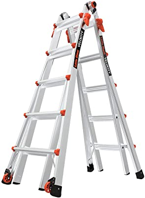 Little Giant Ladder Systems Work Platform Orange