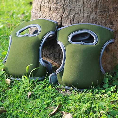 Xueliee Knieschoner für den Garten, aus weichem Neopren, sehr komfortabel, für Zuhause, Gärtner, Reinigung, Arbeit, Schrubben von Böden, Beschneiden