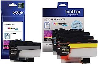 Brother Genuine LC3033BK, LC30333PKS Super High Yield Black/Cyan/Magenta/Yellow Ink Cartridge Set, LC3033