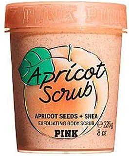 Victoria's Secret Pink Scrub Down Smoothing Body Scrub 10 oz (Apricot)