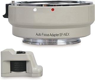 Fotima FT-EF-NEX-W - Adaptador electrónico de Montura Color Blanco