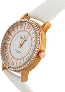 Charisma Casual Watch for WomenLeather B and, Analog, C6585