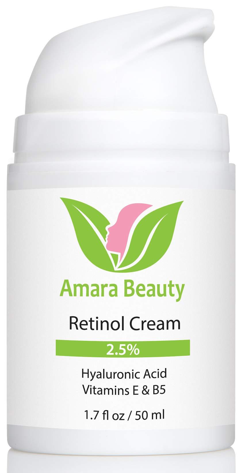 Amara Organics Retinol Hyaluronic Vitamins