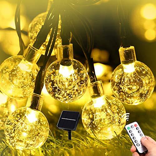 Tepenar - Luci solari da giardino a energia solare, con 60 LED, impermeabile, 60 LED, per albero, patio, cortile, matrimonio, festa