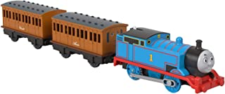 Thomas & Friends TrackMaster, Thomas, Annie, & Clarabel, Motorized Toy Train Engines for Preschool Kids Ages 3 Years and O...