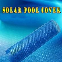 QIANDA Cobertor Piscina Cubierta De Invierno, A Prueba De Polvo Cubrir Azul Solar Piscina Accesorios Película De PE, Forma Personalizada (Size : 549 x 274cm)
