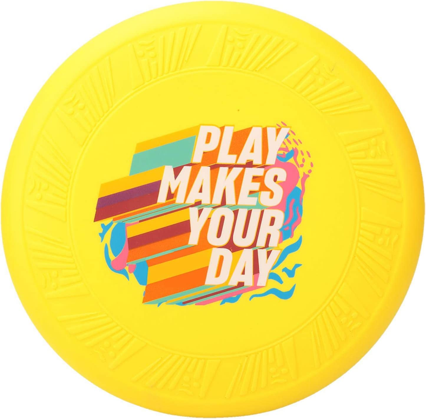 MZL Outdoor Sport PU Children Kid Throwing Playing Limited time for free shipping a Flying Disc Baltimore Mall