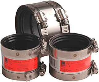 Mission Rubber 3000150 CP 150 Band-Seal Specialty Coupling, 1-1/2-Inch Plastic/Steel/Cast-Iron to 1-1/2-Inch Plastic/Steel