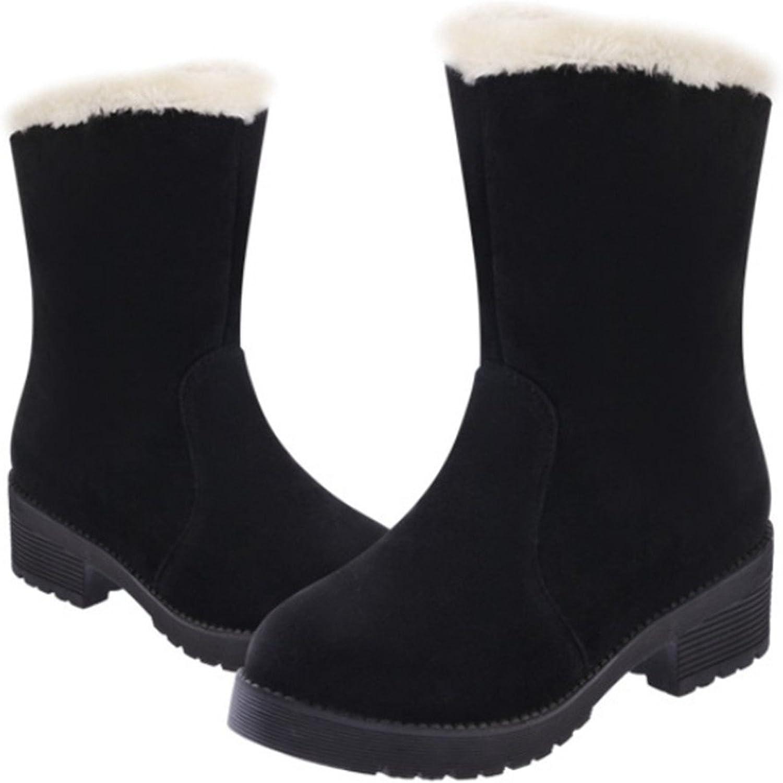 Robert Reyna Fashion Women Boots Flat Winter Warm Snow shoes