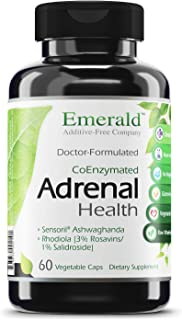 Adrenal Health - with Sensoril ® Ashwagandha for Improved Energy Levels, Sleep Support, Stress Relief, & Promotes Mental C...