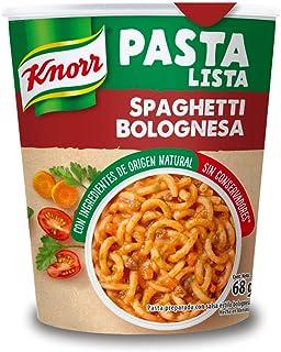 Knorr, Pasta Lista en Vaso Spaguetti Bolognesa, 68 gramos