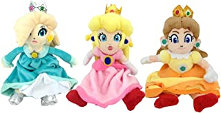 Super Mario Bros Princess Rosalina Daisy Peach Plush Toy Princess Toadstool 9