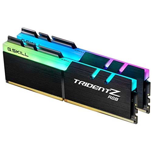 G Skill F4-3200C16D-16GTZR - Tarjeta de Memoria de 16 GB, Color Negro