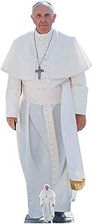 Star Cut Outs Papa Francis Vida tamaño de cartón Recorte out, Multicolor