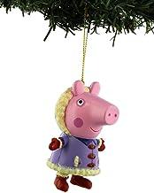 Kurt Adler Peppa Pig Christmas Holiday Ornament with Gift Box (One Size, Peppa Pig Purple)