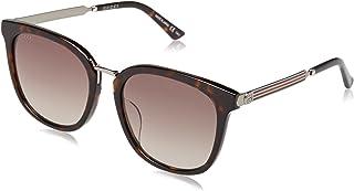 غوتشي نظارة شمسية للرجال ، بني ، مربع ، GG0079SK_003