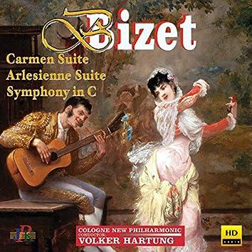 Bizet: Carmen Suite No. 1, L'Arlésienne Suite No. 1 & Symphony in C Major