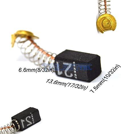 Details about  /Carbon Brushes hitachi DS18DMR,DV14DMR,DV18DL DV18DMR,G14DL,G14DMR