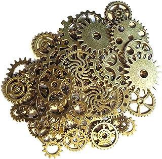 Gram diverse antieke Toestellen van Steampunk Bedels Sieraden Cogs Hanger Klok Wheel Kerstmis voor DIY Crafting Het maken ...