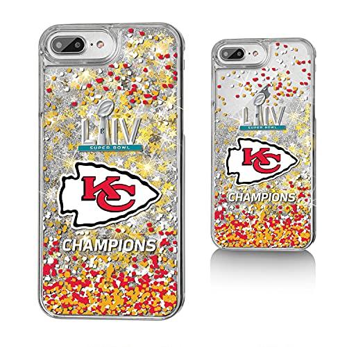 Strategic Printing Kansas City Chiefs Super Bowl LIV Champions iPhone Glitter Confetti Design Case -  3817468