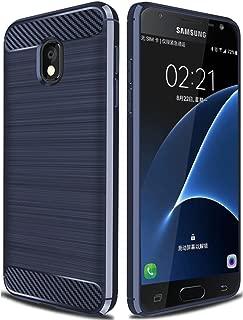 Galaxy J7 Star Case,J7 Crown Case,Galaxy J7 Refine Case,Galaxy J7 V 2nd Gen Case,J7 Aura Case,Asmart Shockproof TPU Bumper Slim Cover Flexible Protective Phone Case for Samsung Galaxy J7V 2018 (Blue)