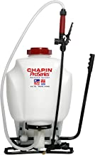 Chapin International 61800 4Gal Backpack Sprayer, 4-Gallon, Translucent White